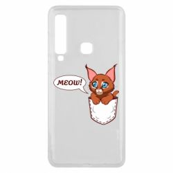Чохол для Samsung A9 2018 A cat in his pocket