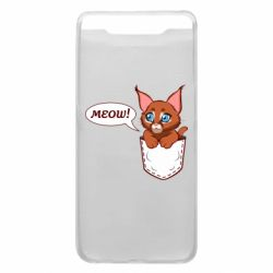 Чохол для Samsung A80 A cat in his pocket