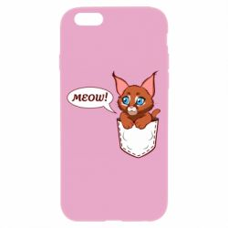 Чохол для iPhone 6/6S A cat in his pocket