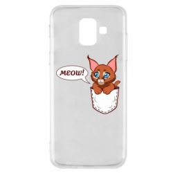 Чохол для Samsung A6 2018 A cat in his pocket