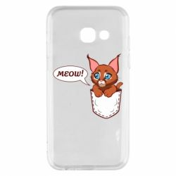 Чохол для Samsung A3 2017 A cat in his pocket