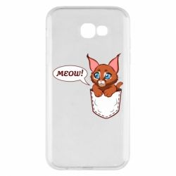 Чохол для Samsung A7 2017 A cat in his pocket