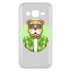 Чохол для Samsung J2 2015 A dog with glasses and a shirt