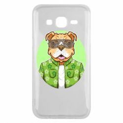 Чохол для Samsung J5 2015 A dog with glasses and a shirt