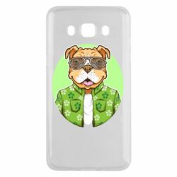 Чохол для Samsung J5 2016 A dog with glasses and a shirt
