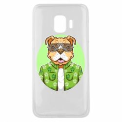 Чохол для Samsung J2 Core A dog with glasses and a shirt