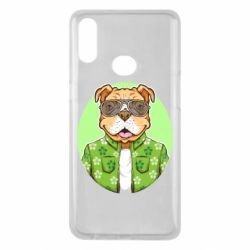 Чохол для Samsung A10s A dog with glasses and a shirt