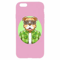 Чохол для iPhone 6 Plus/6S Plus A dog with glasses and a shirt