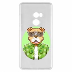 Чохол для Xiaomi Mi Mix 2 A dog with glasses and a shirt
