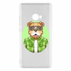 Чохол для Xiaomi Mi Note 2 A dog with glasses and a shirt