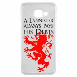 Чехол для Samsung A3 2016 A Lannister always pays his debts - FatLine