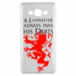 Чехол для Samsung A5 2015 A Lannister always pays his debts - FatLine