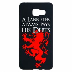 Чехол для Samsung A5 2016 A Lannister always pays his debts - FatLine