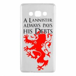 Чехол для Samsung A7 2015 A Lannister always pays his debts - FatLine