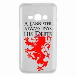 Чехол для Samsung J1 2016 A Lannister always pays his debts - FatLine
