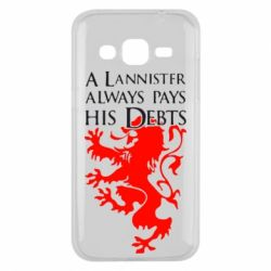 Чехол для Samsung J2 2015 A Lannister always pays his debts - FatLine