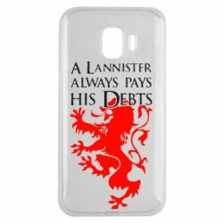 Чехол для Samsung J2 2018 A Lannister always pays his debts - FatLine