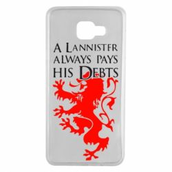 Чехол для Samsung A7 2016 A Lannister always pays his debts - FatLine