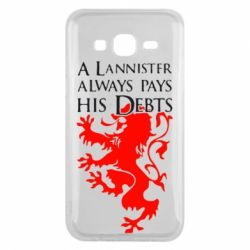 Чехол для Samsung J5 2015 A Lannister always pays his debts - FatLine