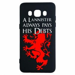 Чехол для Samsung J5 2016 A Lannister always pays his debts - FatLine