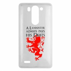 Чехол для LG G3 mini/G3s A Lannister always pays his debts - FatLine