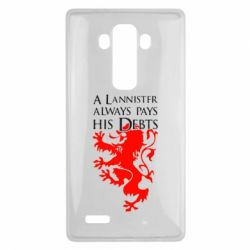 Чехол для LG G4 A Lannister always pays his debts - FatLine