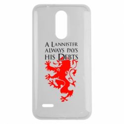 Чехол для LG K7 2017 A Lannister always pays his debts - FatLine