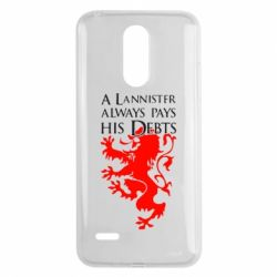 Чехол для LG K8 2017 A Lannister always pays his debts - FatLine