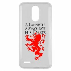 Чехол для LG K10 2017 A Lannister always pays his debts - FatLine