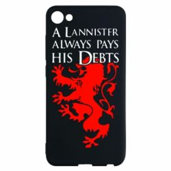 Чехол для Meizu U10 A Lannister always pays his debts - FatLine