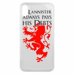 Чехол для iPhone Xs Max A Lannister always pays his debts - FatLine