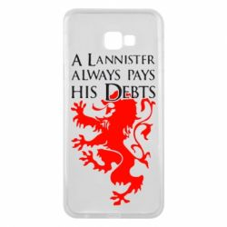 Чехол для Samsung J4 Plus 2018 A Lannister always pays his debts - FatLine