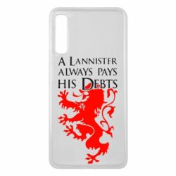 Чехол для Samsung A7 2018 A Lannister always pays his debts - FatLine
