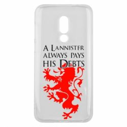Чехол для Meizu 16 A Lannister always pays his debts - FatLine