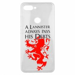Чехол для Xiaomi Mi8 Lite A Lannister always pays his debts - FatLine