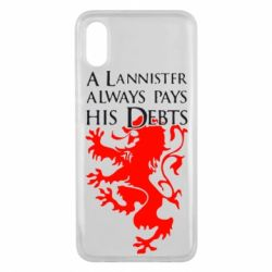 Чехол для Xiaomi Mi8 Pro A Lannister always pays his debts - FatLine