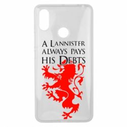 Чехол для Xiaomi Mi Max 3 A Lannister always pays his debts - FatLine