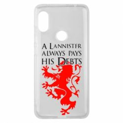 Чехол для Xiaomi Redmi Note 6 Pro A Lannister always pays his debts - FatLine