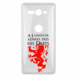 Чехол для Sony Xperia XZ2 Compact A Lannister always pays his debts - FatLine