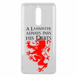 Чехол для Nokia 8 A Lannister always pays his debts - FatLine