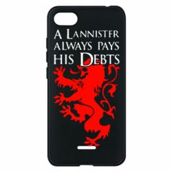 Чехол для Xiaomi Redmi 6A A Lannister always pays his debts - FatLine