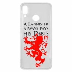 Чехол для Huawei P Smart Plus A Lannister always pays his debts - FatLine