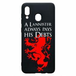 Чохол для Samsung A30 A Lannister always pays his debts