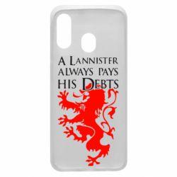 Чохол для Samsung A40 A Lannister always pays his debts