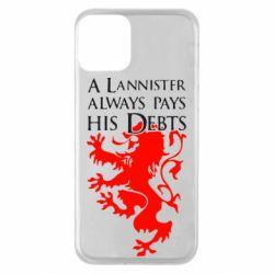 Чохол для iPhone 11 A Lannister always pays his debts