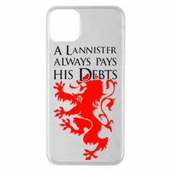 Чехол для iPhone 11 Pro Max A Lannister always pays his debts