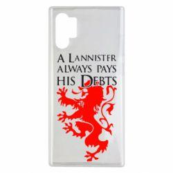 Чохол для Samsung Note 10 Plus A Lannister always pays his debts