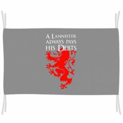 Прапор A Lannister always pays his debts