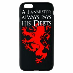 Чехол для iPhone 6/6S A Lannister always pays his debts - FatLine