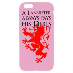 Чехол для iPhone 6 Plus/6S Plus A Lannister always pays his debts - FatLine